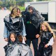 Mickael Miro en famille sur Instagram.