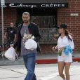 Eva Longoria et Tony Parker sont peut être sportifs mais gourmands avant tout !