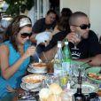 Eva Longoria et Tony Parker : une autre passion qu'ils ont en commun, la bonne nourriture !