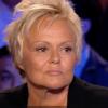 Muriel Robin : Le décor d'On n'est pas couché s'effondre sur elle