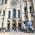 Obsèques du pilote de F2 Anthoine Hubert en la cathédrale de Chartres, le 10 septembre 2019.