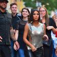 Kendall Jenner est allée faire du shopping avec sa soeur Kim Kardashian lors de la Fashion Week 2019 à New York, le 10 septembre 2019