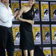 """Dong-seok Ma, Angelina Jolie - """"Marvel Studios"""" - 3ème jour - Comic-Con International 2019 au """"San Diego Convention Center"""" à San Diego, le 20 juillet 2019."""