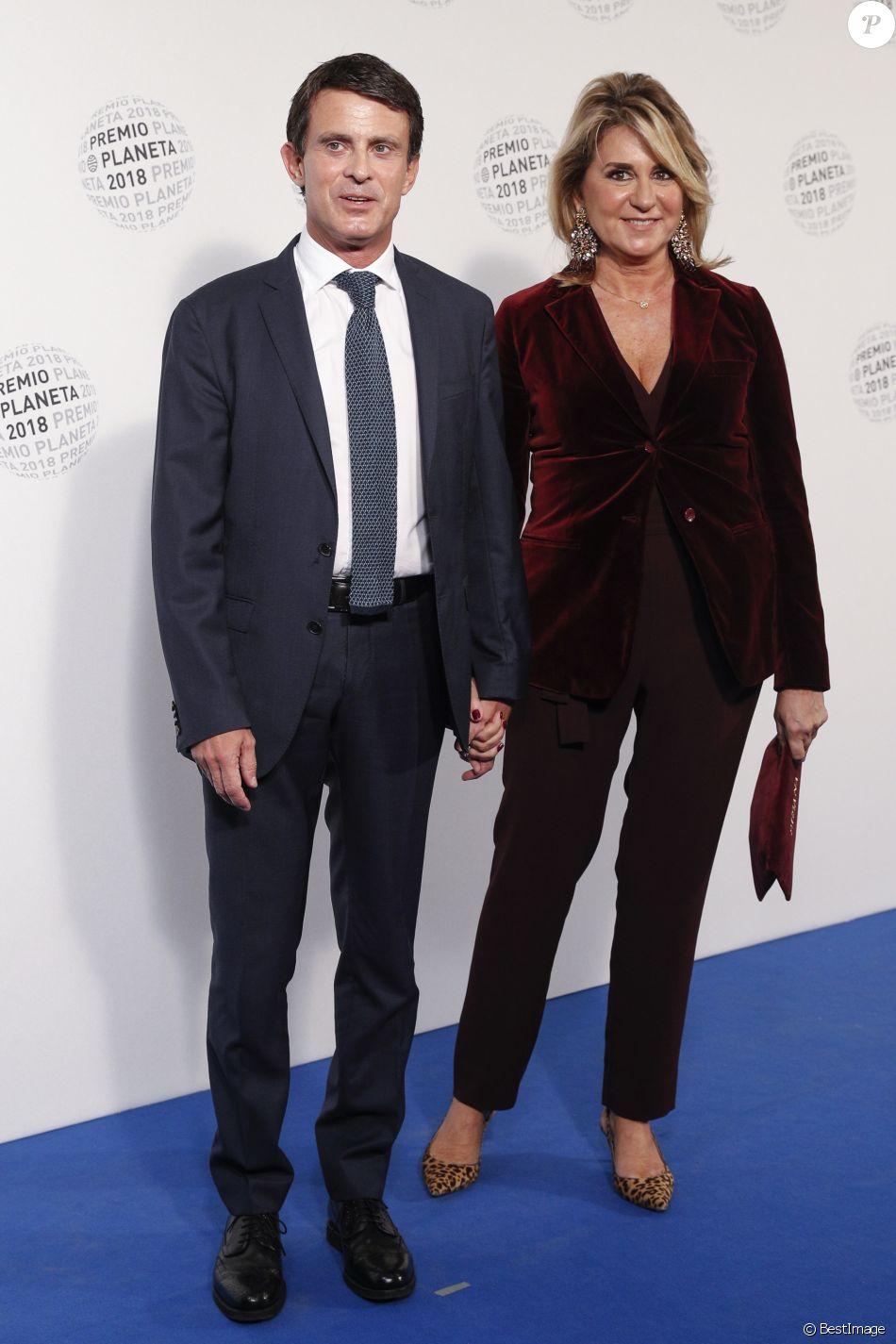 Manuel Valls remarié  il a épousé Susana Gallardo en toute