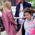 Jennifer Lawrence et son fiancé Cooke Maroney à New York le 29 avril 2019.