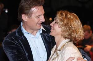 Liam Neeson, courageux, passe ses vacances sur le lieu préféré de son épouse décédée Natasha Richardson... Regardez !