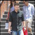 """""""Justin Timberlake en compagnie de son père à Los Angeles, le 8 juillet 2009"""""""