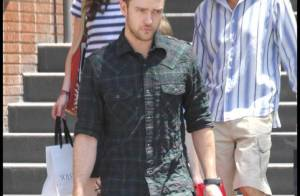 Justin Timberlake : il n'est pas que le fi-fils à sa maman... Il adore aussi son papounet !
