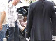 Madonna est arrivée à Paris avec ses enfants ! Regardez les images de la craquante petite Mercy !