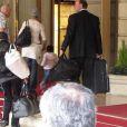 Madonna est à Paris avec sa fille Mercy, à l'hôtel Le Ritz
