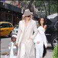 Madonna et ses fils David et Rocco