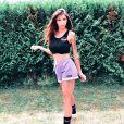 Julia Paredes sportive sur Instagram, le 15 septembre 2019