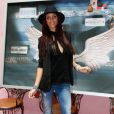 "Julia - Photocall des ""Anges 7"" au Barrio Latino à Paris, le 26 mai 2015."