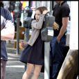 Ruby Jerins sur le tournage de Remember Me le 8 juillet 2009
