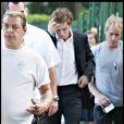 Robert Pattinson sur le tournage de Remember Me le 8 juillet 2009