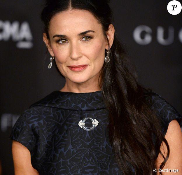 """Demi Moore - Soirée """"LACMA Art + Film Gala"""" à Los Angeles le 1er novembre 2014."""
