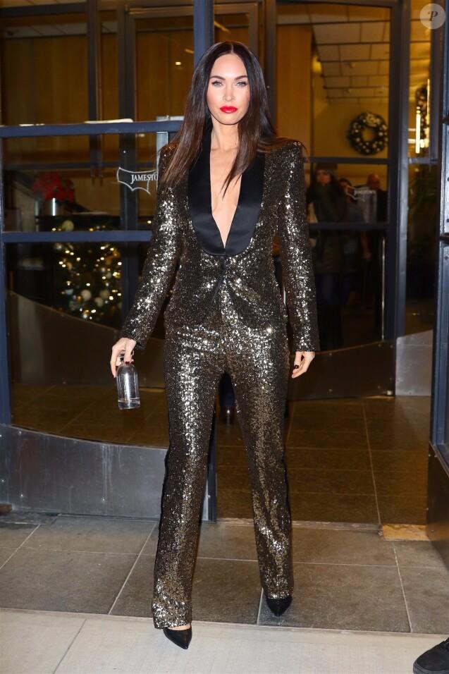 Exclusif - Megan Fox à New York le 29 novembre 2018.