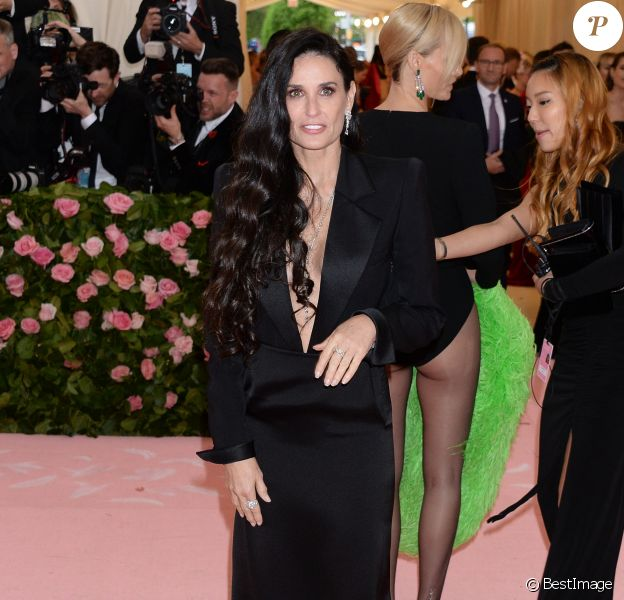 "Demi Moore - Arrivée des people à l'after party de la 71ème édition du MET Gala (Met Ball, Costume Institute Benefit) sur le thème ""Camp: Notes on Fashion"" au Metropolitan Museum of Art à New York, le 6 mai 2019"