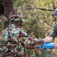 Le prince Harry, duc de Sussex visite le parc national de Liwonde et la forêt Mangochi lors de la huitième journée de la visite royale en Afrique. Liwonde, le 30 septembre 2019.