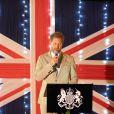 Le prince Harry, duc de Sussex, lors d'une réception à la résidence du Haut Commissaire britannique à Lilongwe, Malawi, le 29 septembre 2019, lors du septième jour de la tournée royale en Afrique.