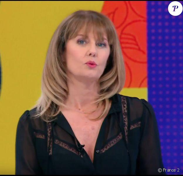 """Isabelle Chalençon dans """"Télématin""""- émission du 12 juin 2018."""