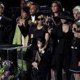 La Toya Jackson entourée des enfants de Michael Jackson et de Janet Jackson au Staples Center