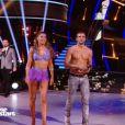 """Candice Pascal et Hugo Philip sur un chacha lors du troisième prime de """"Danse avec les stars 2019"""", le 5 octobre 2019, sur TF1"""