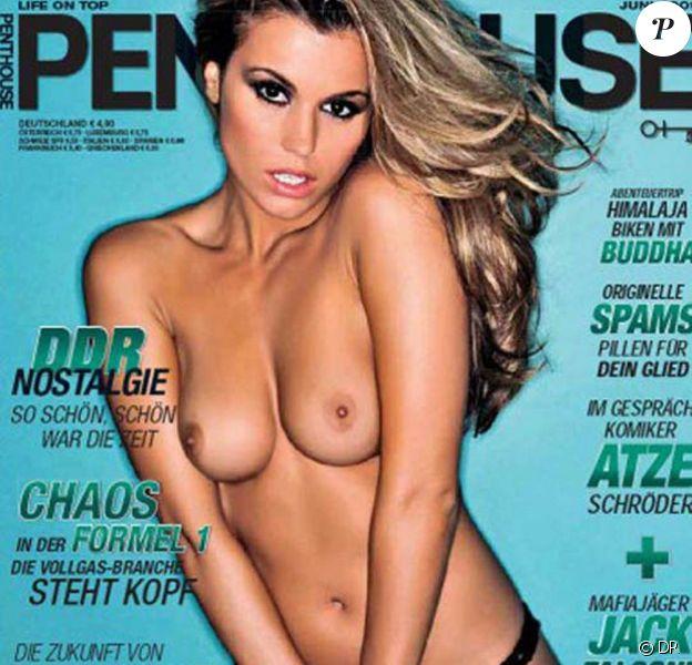 Alicia Seffras est le Penthouse Pet du mois de juin de Penthouse Allemagne