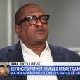 Mathew Knowles dans Good Morning America, le 2 octobre 2019.