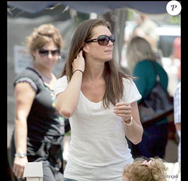 Brooke Shields à Los Angeles, le 12 juillet 2009