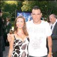 Vinnie Jones et son épouse à Hollywood, en 2007.