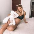 Jessica Thivenin partage des photos pendant sa première grossesse (été 2019).