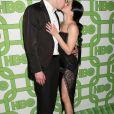 """Ariel Winter et son compagnon Levi Meaden - Photocall de la soirée """"HBO 's Official Golden Globes Awards After Party"""" au restaurant Circa 55 à Beverly Hills. Le 6 janvier 2019"""