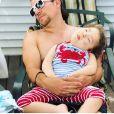 Le comédien américain Miguel Cervantes raconte la maladie de sa petite fille Adelaide (3 ans) à People, le 11 octobre 2019.
