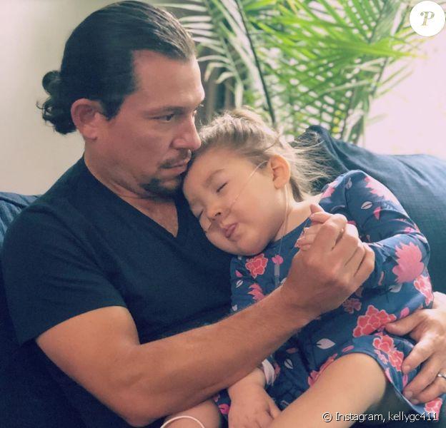 Le comédien américain raconte la terrible maladie de sa fille Adelaide (3 ans) à People, le 11 octobre 2019.