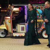 Kate Middleton scintillante au Pakistan, arrivée en tuk-tuk avec William