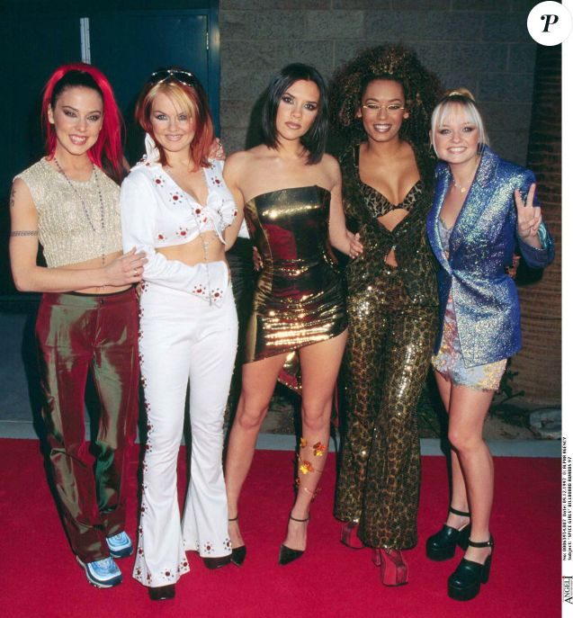 Les Spice Girls aux Billboard Awards de Las Vegas en 1997.