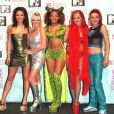 Les Spice Girls aux MTV Music Awards à Rotterdam en 1997.