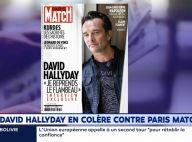 David Hallyday : Un coup de gueule étonnant ? Les explications...