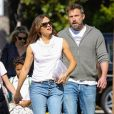 Exclusif - Jennifer Garner, Ben Affleck et leurs enfants Samuel Affleck, Seraphina Rose Affleck à Los Angeles, le 4 octobre 2019.