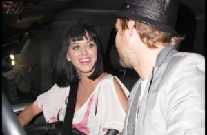 Katy Perry, toujours sexy et pimpante... est bien réceptive au charme de son ''ami'' !