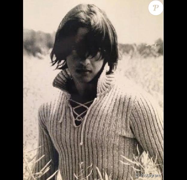 Moundir jeune, un cliché dévoilé le 10 octobre 2017 sur Instagram.