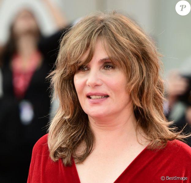 Emmanuelle Seigner à la cérémonie de clôture du 76e Festival International du Film de Venise (Mostra), le 7 septembre 2019.