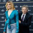 """Roman Polanski et sa femme Emmanuelle Seigner - Avant-première du film """"D'après une histoire vraie"""" lors du festival du film de Zurich, le 2 octobre 2017."""