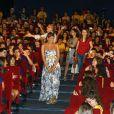 Eva Mendes au festival de Giffoni, le 17 juillet 2009