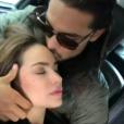 Julien Guirado et Audrey - Instagram, mai 2018