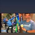 Stéphane Plaza a participé au New York pour le marathon, novembre 2019.