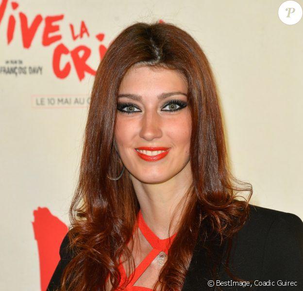 """Sophie Vouzelaud - Avant-première du film """"Vive la crise !"""" au cinéma Max Linder à Paris le 2 mai 2017. © Coadic Guirec/Bestimage"""