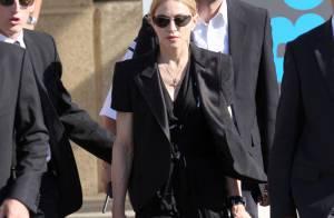 Madonna : La chanteuse était hier à Marseille pour soutenir les victimes et leurs proches... Regardez !