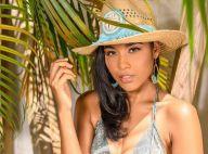 Miss France 2020 : Clémence Botino, Miss Guadeloupe 2019, sensuelle à la plage